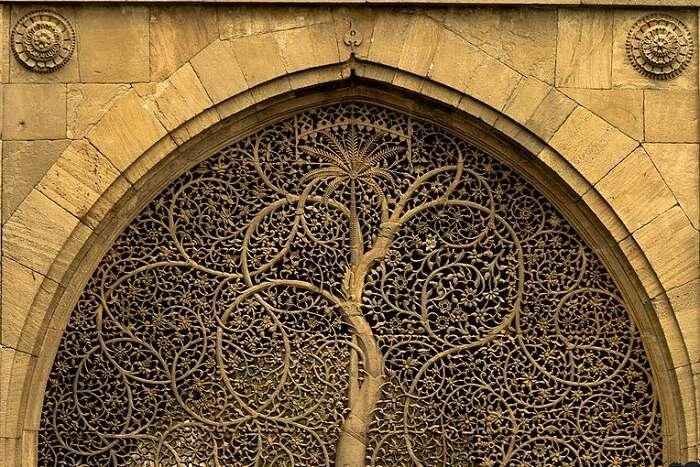 Sidi Saiyyed Mosque in Ahmedabad