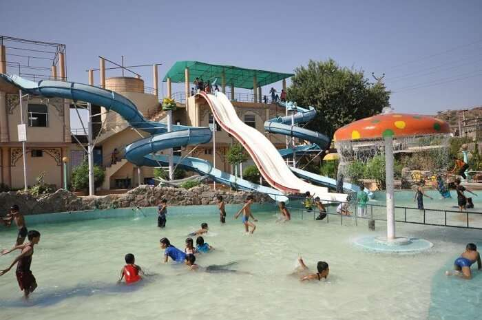 Water park in Jodhpur