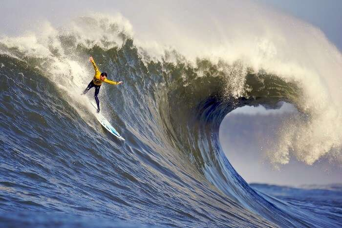 Surfing in Fiji
