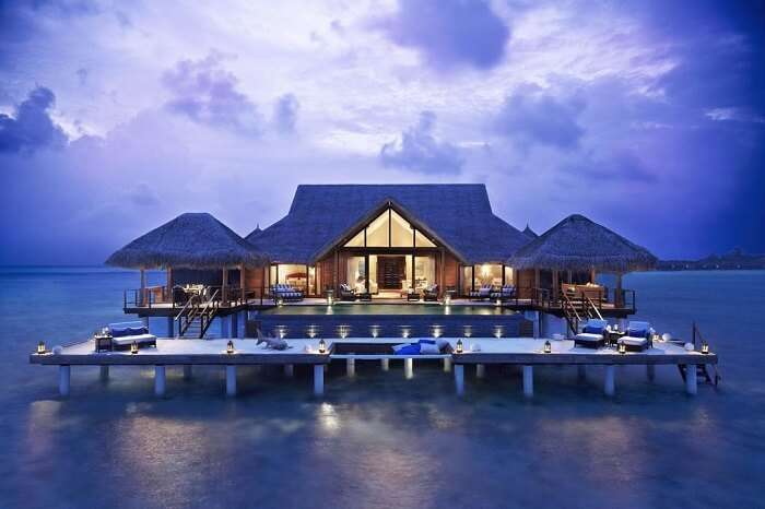 famous hotel in Maldives