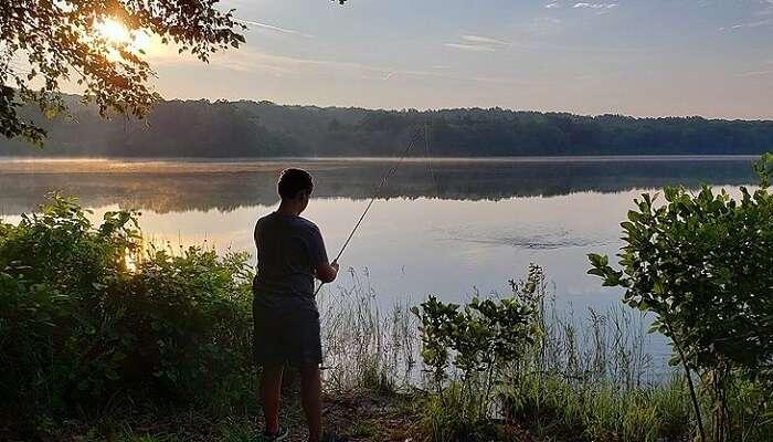 Timpangoh River Fishing trip