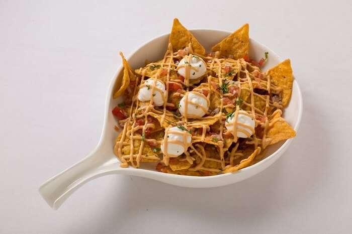famous nacho like dish