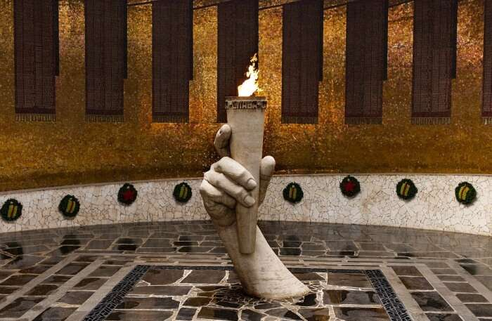 Flame Statue