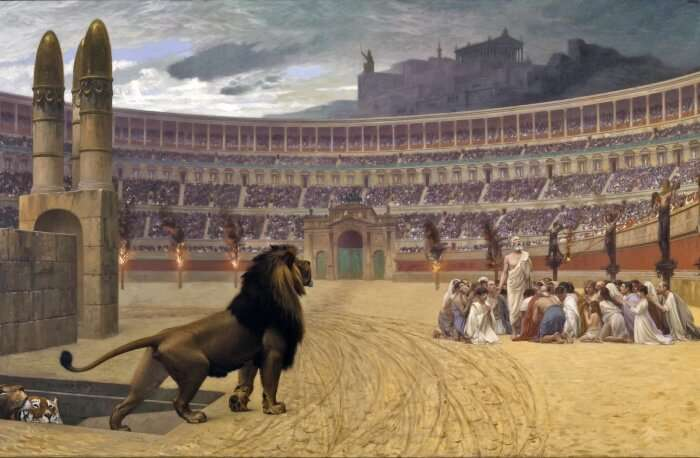 The Link Between The Colosseum & Christianity