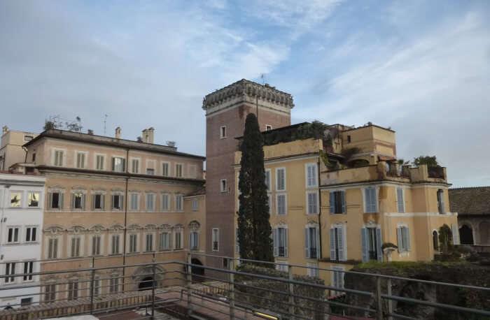 The Salita Del Grillo and The Trajan's Market
