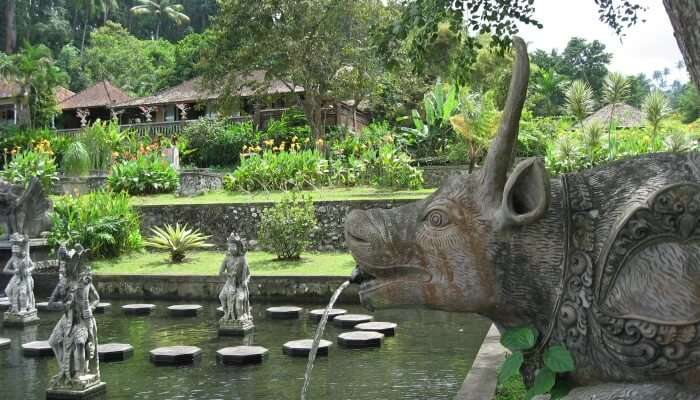 water palace in Bali