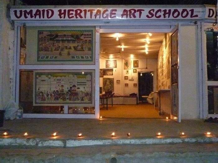 Art school in Jodhpur