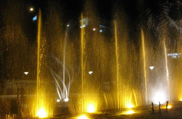 Visit The Colorful Craiova Musical Fountain
