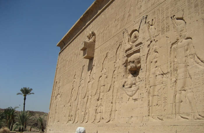 Temple Of Hathor View