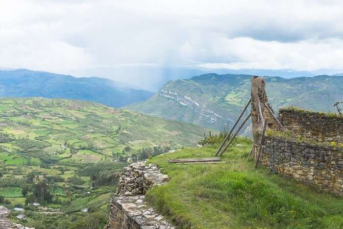 Vue de Kuelap