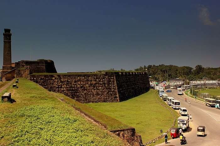 Walk Over The Ramparts Of Galle Fort