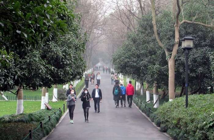 Walk The Su And Bai Causeways