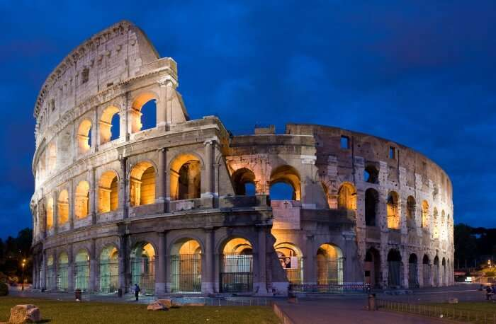 Why The Colosseum Changes Colors