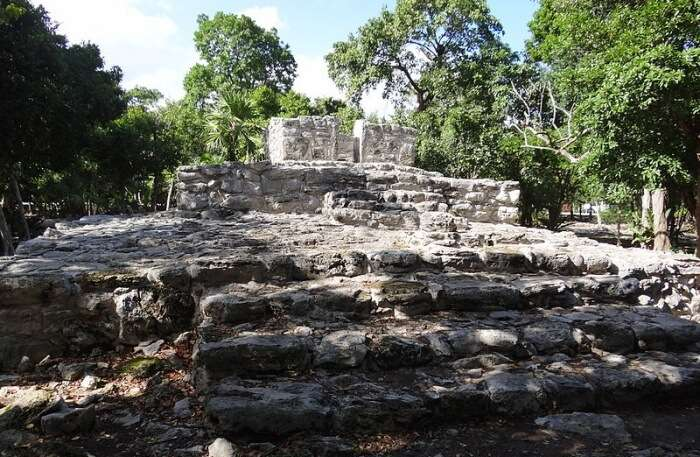 Xaman Ha Ruins In Mexico