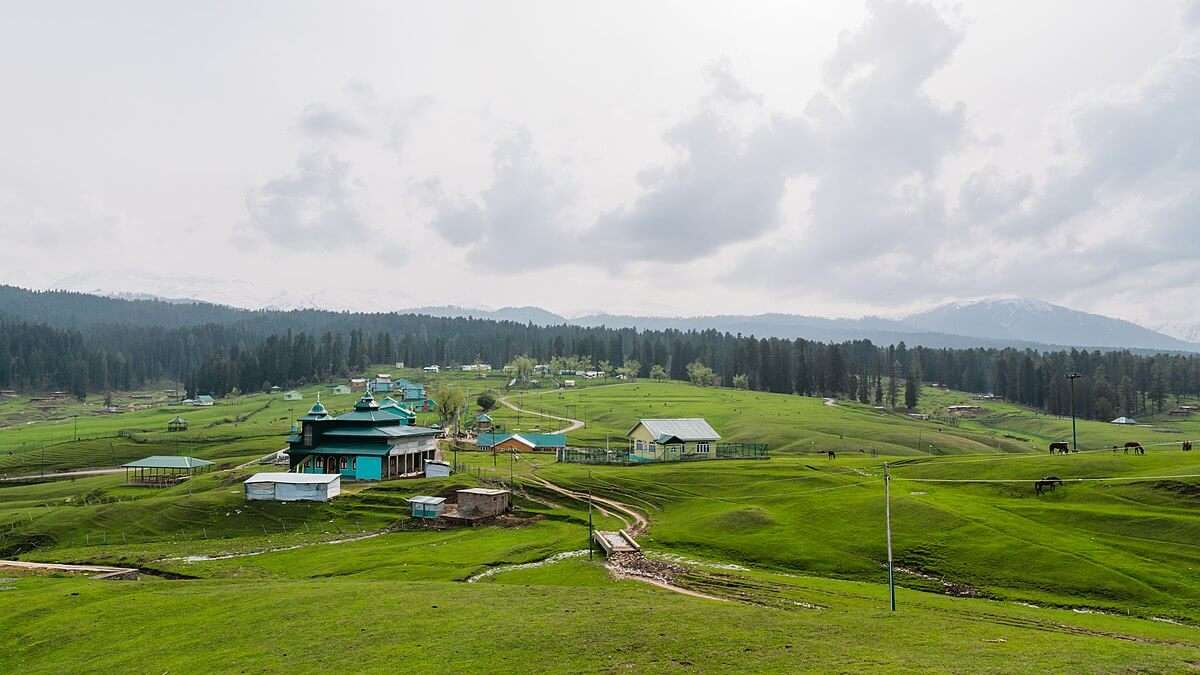 Yusmarg in srinagar