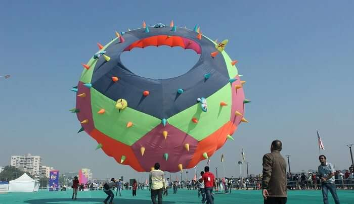 big kit at kite festival