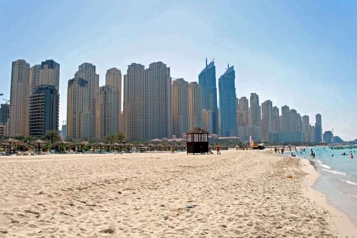 Dubai during april