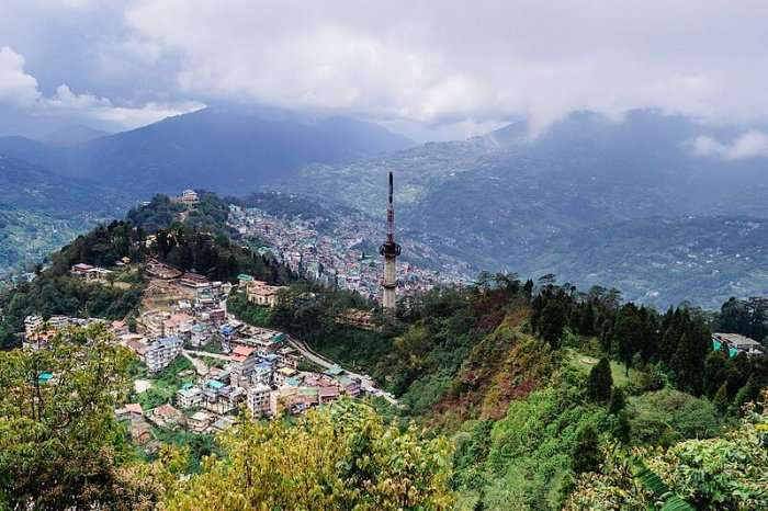 overview of gangtok city