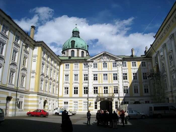 hofberg castle innsbruck