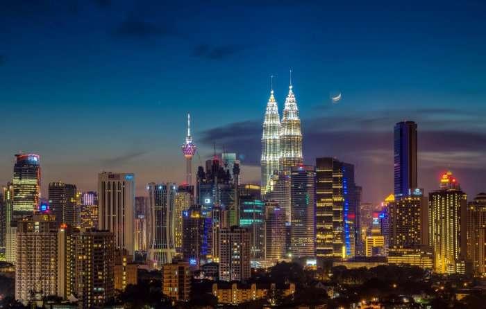 Kuala Lumpur nightview
