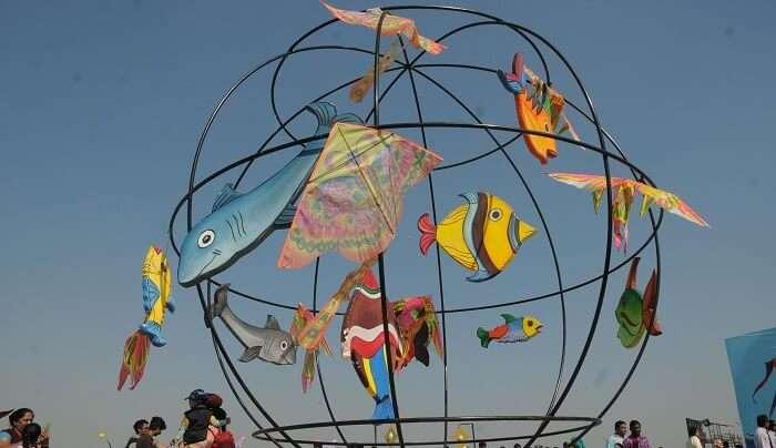 kite festival in kutch