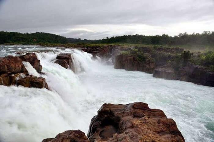 best waterfall in assam
