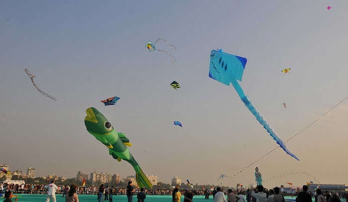 surat kite festival