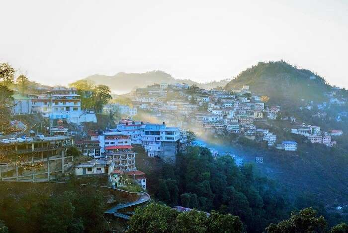visit Mussoorie hill station in India