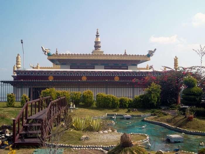 White monastery