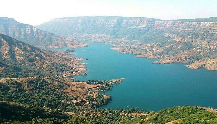mahabaleshwar view from top