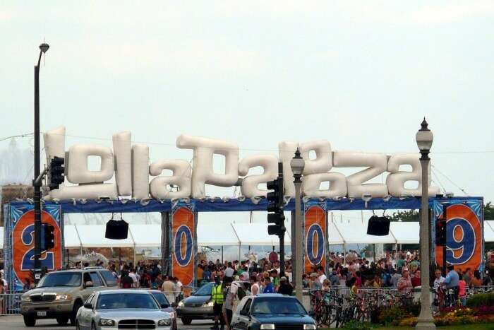 Lollapalooza entrance