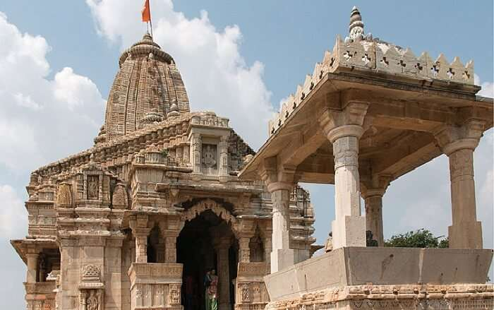 temple in chittorgarh fort