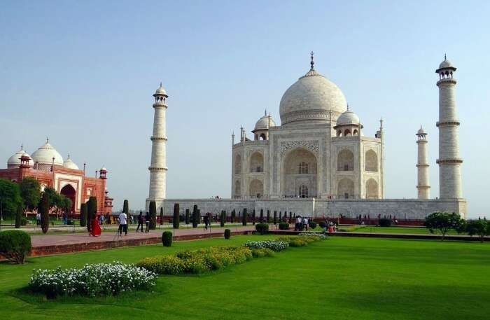 About The Taj Mahal In India