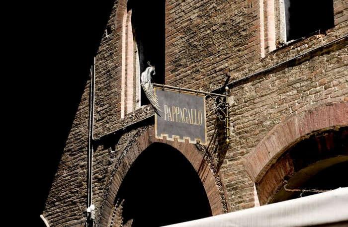 Al Pappagallo Restaurant In Bologna