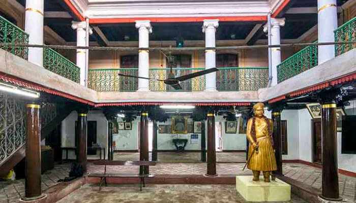 Ananda Ranga Pillai Mansion in Pondicherry
