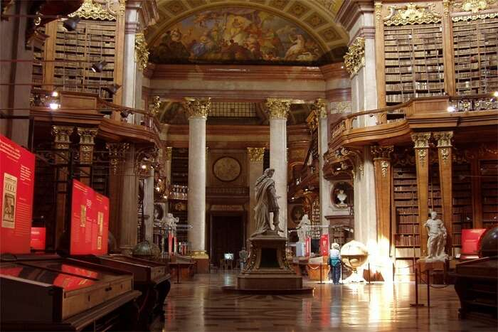 inside view of the library