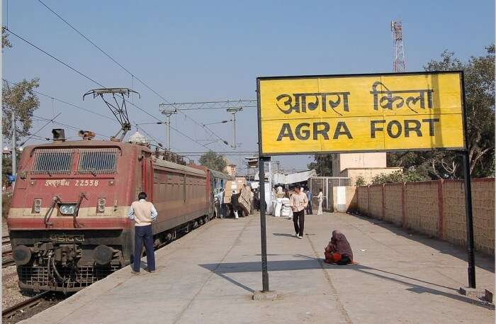 Agra Station View