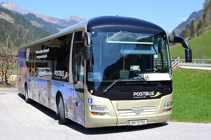 bus in austria