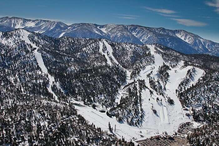 famous big bear mountains