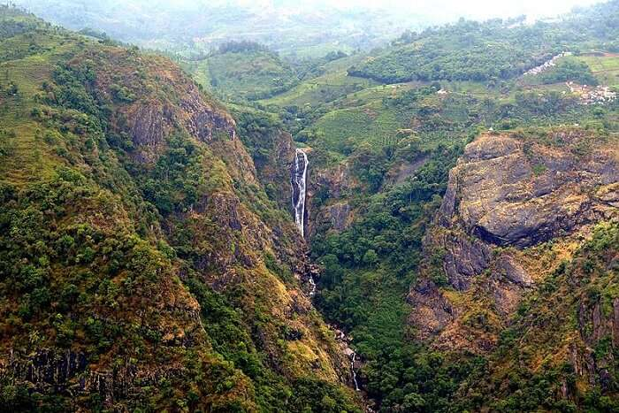 waterfall in Ooty