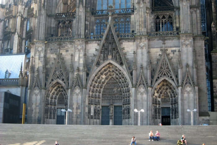 Cologne Cathedral in Cologne, Germany-north elevation