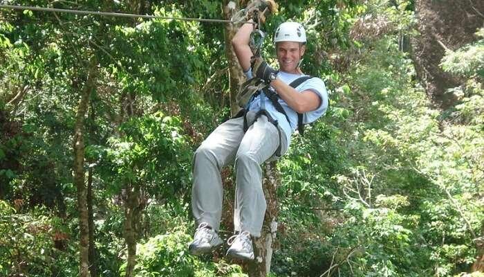 Try Ziplining