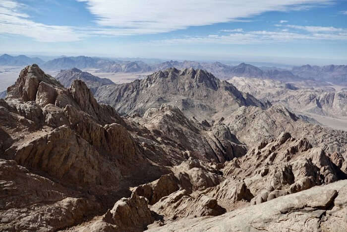 mountain view in Egypt