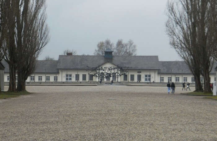 Dachau Concentration Camp View