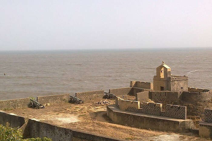 small island in Gujarat
