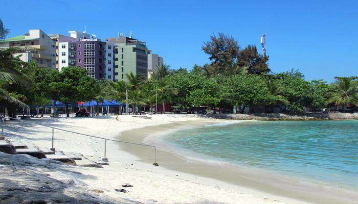 Enjoy a break from the hustle & bustle at Artificial Beach