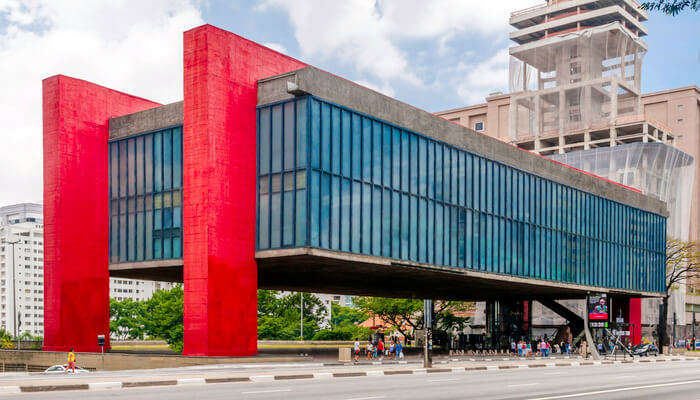 Explore the fantastic Sao Paulo Museum of Art