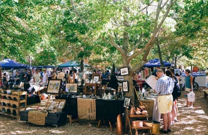 Franschhoek Village Market in Cape Town