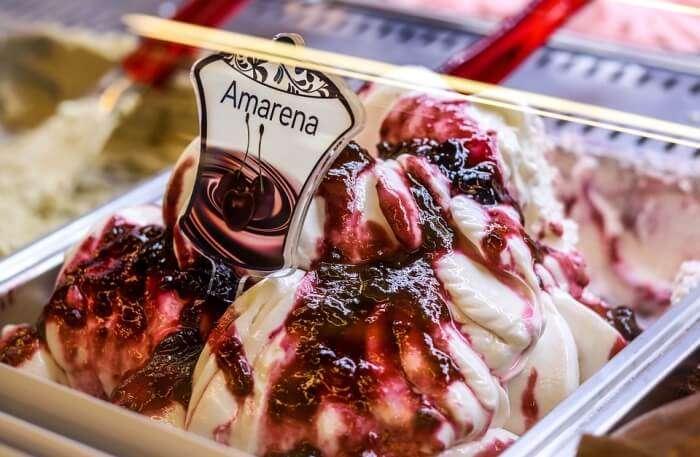 Gelato Ice Cream Dessert Coex Seoul