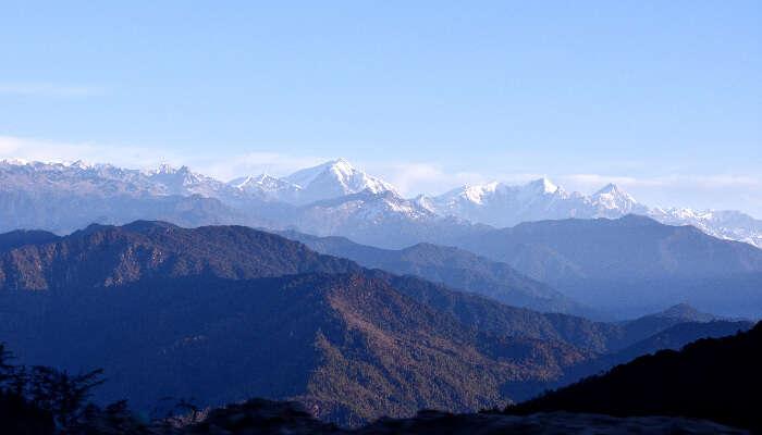 Gorichen Peak in Tawang
